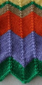 Zigzag Patroon Breien
